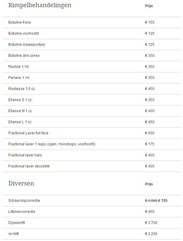 acura-medisch-centrum-botox-prijs