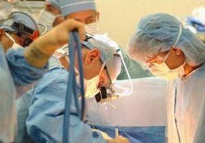 Plastische chirurgie haartransplantatie.