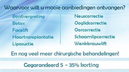Ontvang kliniek aanbiedingen van de best gewaardeerde NL klinieken.
